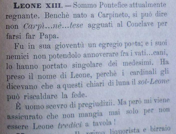 Leone XII - RELIGIONE