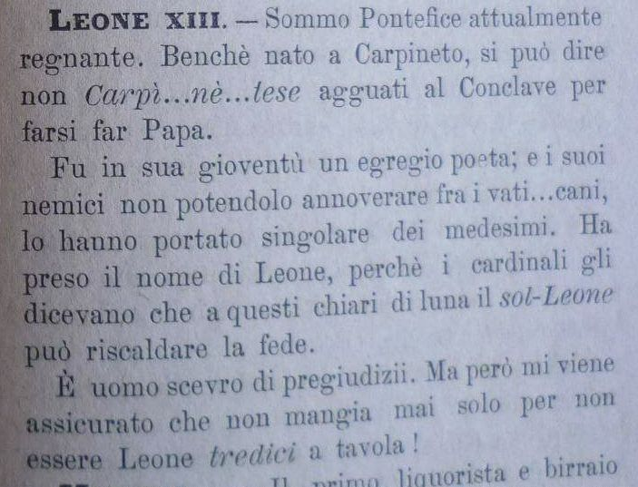 Leone XII - RELIGION