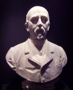 The statue of Carlo Collodi