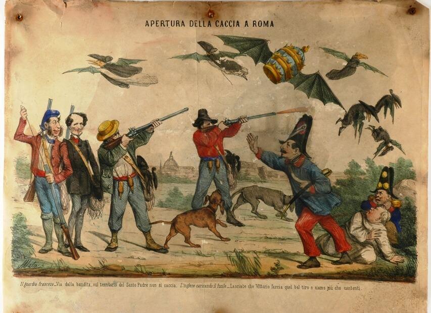otwarcie polowania w Rzymie